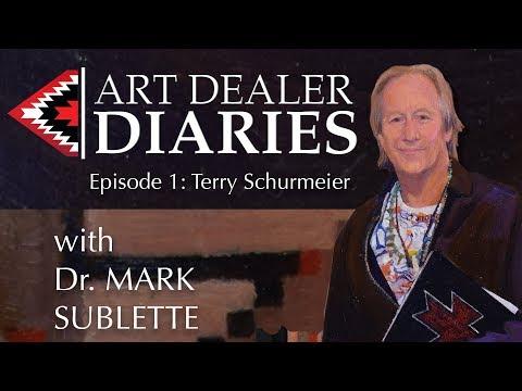 Art Dealer Diaries Season 2018 E 1, Terry Schurmeir hosted by Mark Sublette