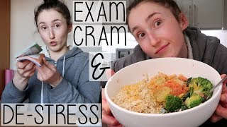 Скачать HOW TO CRAM FOR EXAMS DE STRESS REVISION DAY IN MY LIFE VLOG