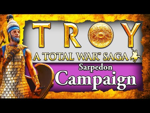 NEW* TROY CAMPAIGN GAMEPLAY! TROY Total War Saga: Sarpedon Campaign Gameplay  