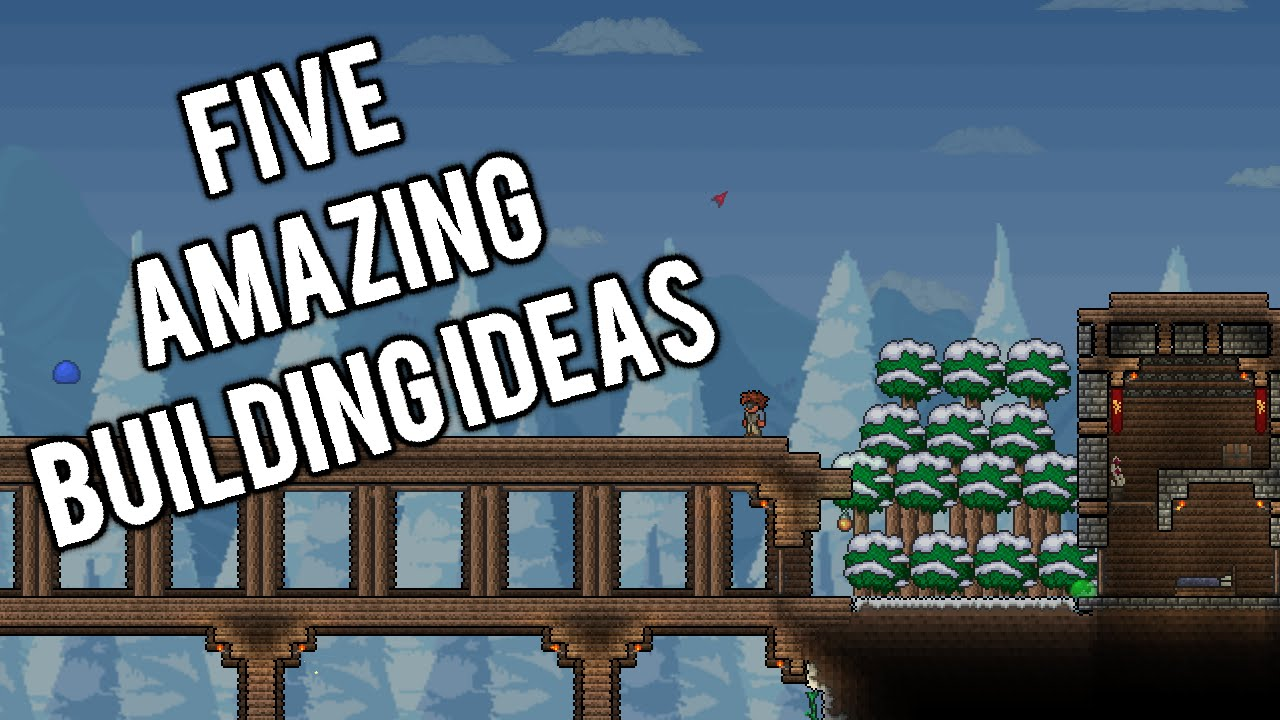 Top 5 Building Ideas In Terraria For When You're Out Of Ideas! PC