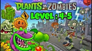 PLANTS VS ZOMBIES PC GAMEPLAY | LEVEL : 4-5 | MK Gamers
