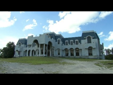 Construction resumes on america 39 s biggest house youtube for Biggest house in usa