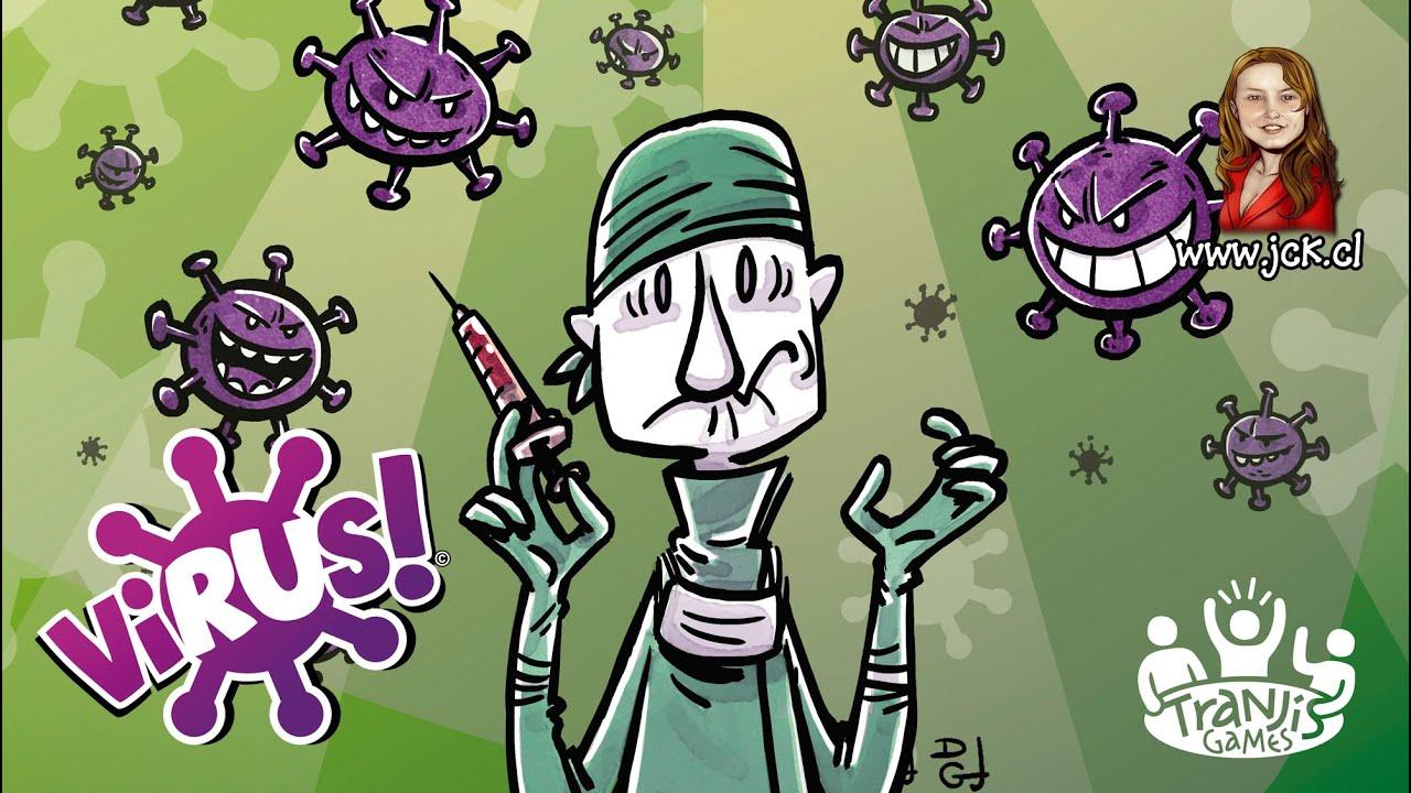 Virus Juego De Mesa Boardgame Youtube
