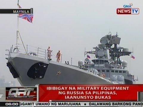 QRT: 2 barkong pandigma ng Russian Navy, nasa Pilipinas para sa Goodwill Visit