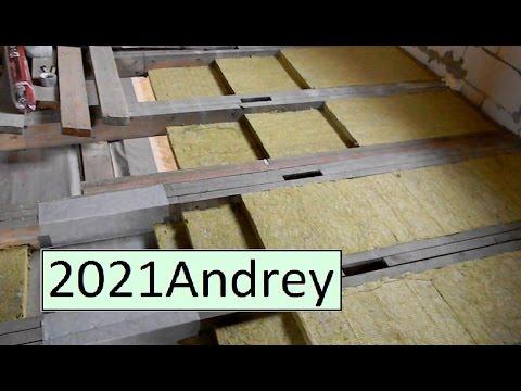 Утепляем потолок и пол второго этажа.  фильм - 26