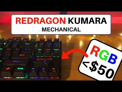 Best RGB Mechanical Keyboard Under $50 in 2017?   Redragon Kumara K552