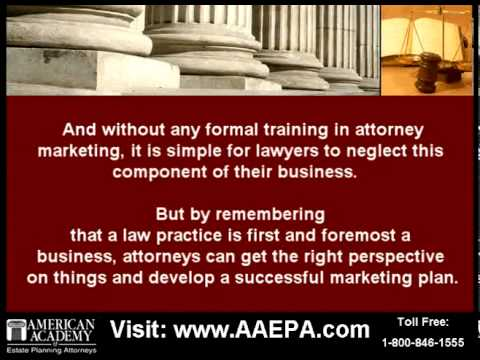 Using Attorney Marketing to Develop a Practice