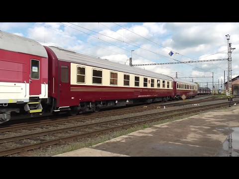 163.096-1 s vozy Continental Classic Express v depu Olomouc | viz komentář