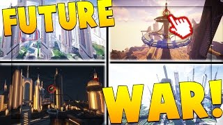 FUTURE WARFARE MOD CHALLENGE (MODERN CITY PVP)  | Minecraft Mod Challenge