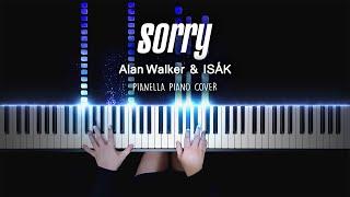 Alan Walker & ISÁK - Sorry | Piano Cover by Pianella Piano видео