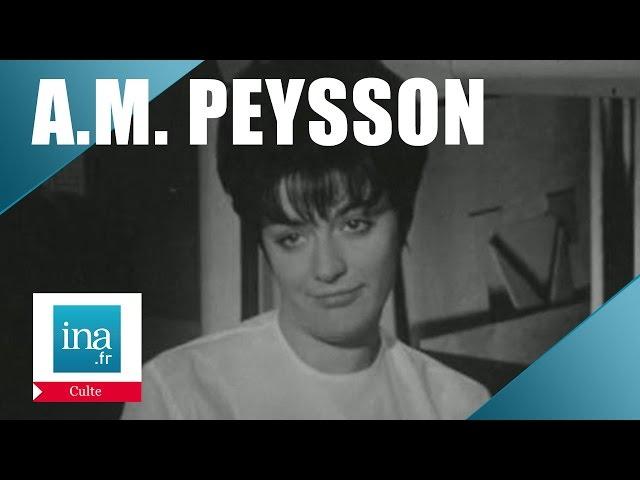 Une journée avec la speakerine Anne-Marie Peysson | Archive INA