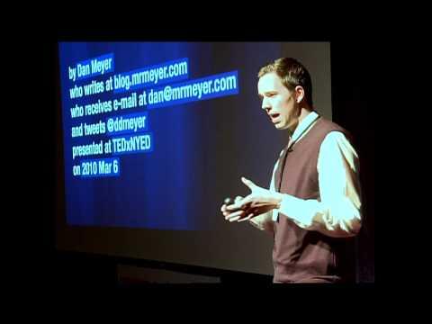 Dan Meyer at TEDxNYED