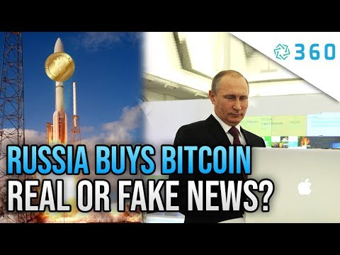 Russia Government Buying Bitcoin - Reason For The Next BTC Price Explosion. For Real Or Fake News?