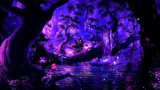 Heavenly Night 💜 Soothing Deep Sleep Music | Calm Meditation Relaxing Music
