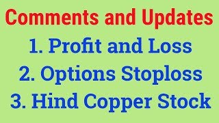Comments and Updates   Hind Copper Stock   Tamil Share