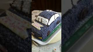 Торт машинка🎂🎂