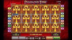 Pharaoh's Tomb Slot  - The Perfect Bonus Round! - Over 1000x Stake Win!