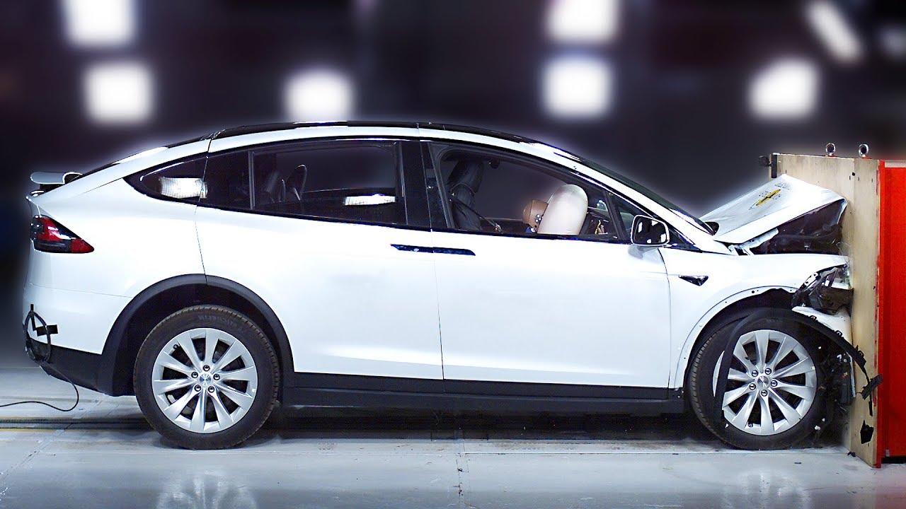 Tesla Model X Crash Test Safest Suv 2020