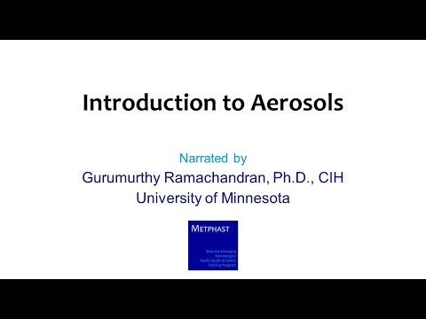 Module 4: Introduction to Aerosols