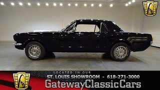 #7214 1966 Ford Mustang - Gateway Classic Cars of St. Louis