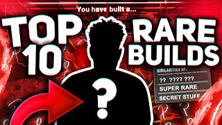 TOP 10 MOST RARE BUILDS ON NBA 2K20