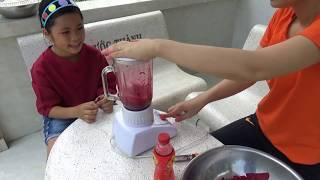 Mẹ Kế Tốt Bụng Tập 9 - Lần Đầu Tiên Làm Mức Dừa Màu Tím Củ Dền [ FPL CHANNEL ]