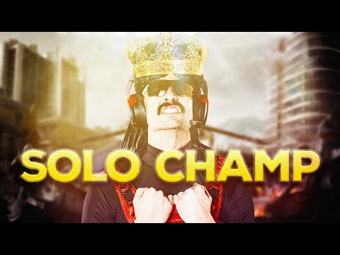 AGAINST ALL ODDS. A DrDisrespect WARZONE SOLO GAME