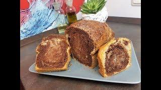 """Мраморный кекс! Или как его назвал мой сын """" Шоколадный хлеб """"😄"""
