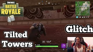 Fortnite: Battle Royale | **NEW SECRET UNDERGROUND GLITCH IN TILTED TOWERS**