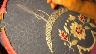 Tutorial de bordado de lã a mão