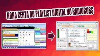 Formato de hora certa Playlist Digital no Radioboss