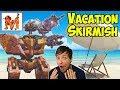 War Robots Vacation Skirmish Mixed Fun Gameplay WR