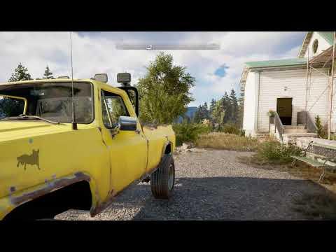 Far Cry 5: 4K Gameplay Footage