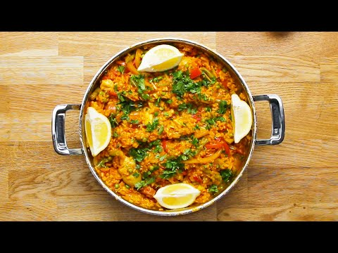 Meatless Paella