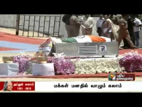 A musical tribute to the great visionary Dr. APJ Abdul Kalam