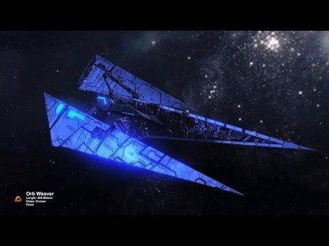 Tholian Orb Weaver T5U Starship Review Build Demo - Star Trek Online