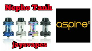 Nepho Tank by Aspire | Unboxing and Review