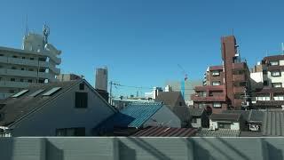 【車窓】特急まほろば 新大阪→奈良・右(20191102) Side View:LTD.EXP. Mahoroba ShinOsaka to Nara