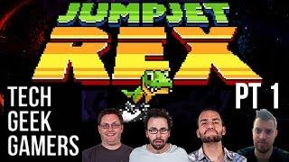 Let's Play Jumpjet Rex - Couch Co Op