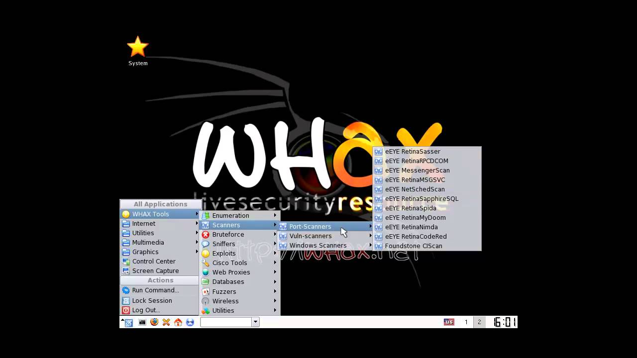 whax windows