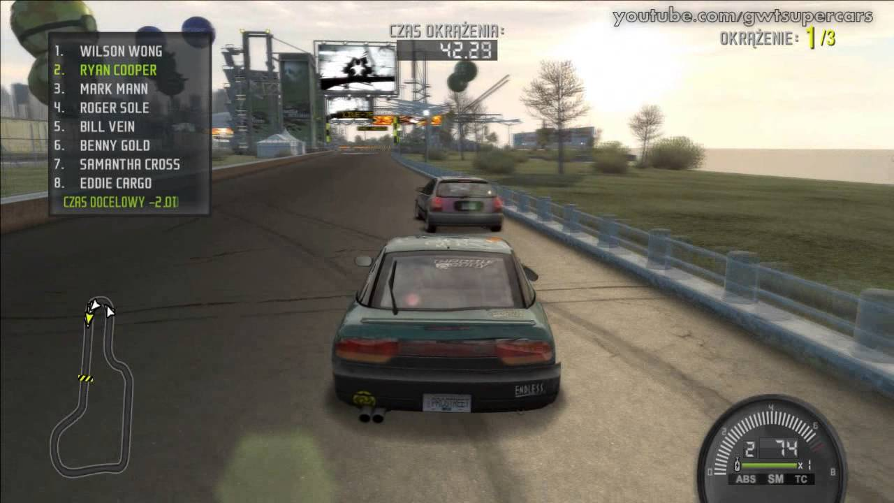 need for speed pro street first race nissan 240sx. Black Bedroom Furniture Sets. Home Design Ideas