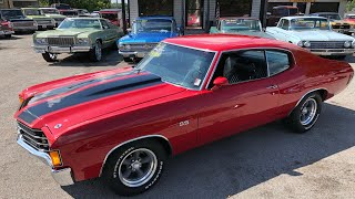 1972 SS Chevelle Big Block 4 Speed $34,900 Maple Motors