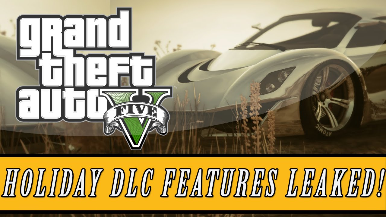 GTA 5: Online | Holiday DLC Update & Heists DLC Features ...