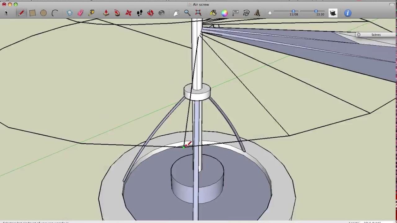 how to make leonardo da vinci helicopter