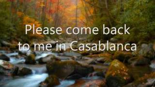 Bertie Higgins - Casablanca (Lyrics)