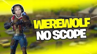 NO SCOPE-USE SKIN WEREWOLF-Fortnite Indonésie