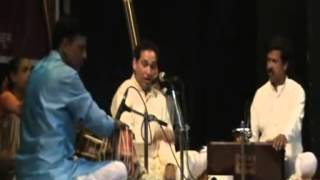 Anand Bhate sings Yaman--Live