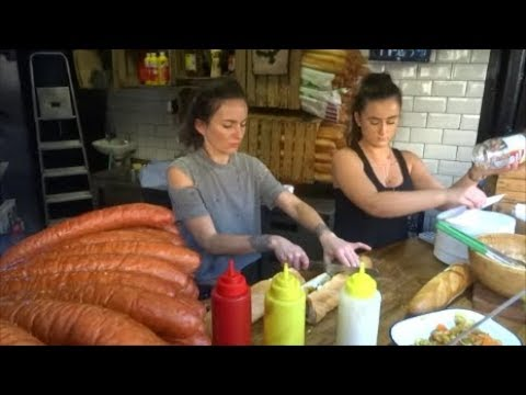 LONDON STREET FOOD, CAMDEN MARKET, WALK AROUND CAMDEN LOCK M