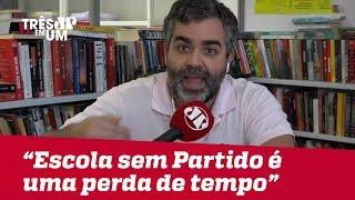 """Carlos Andreazza: """"Isso [Escola Sem Partido] é uma tremenda perda de tempo"""""""