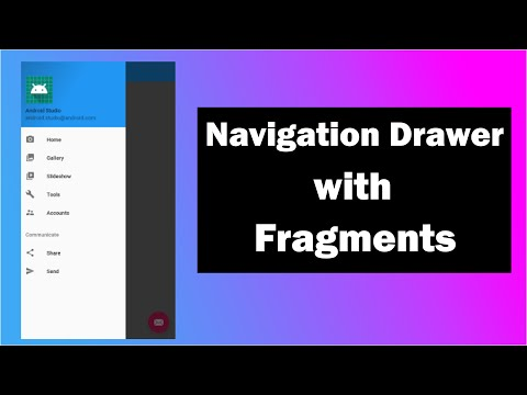 Navigation Drawer With Fragments   Navigation Drawer Activity